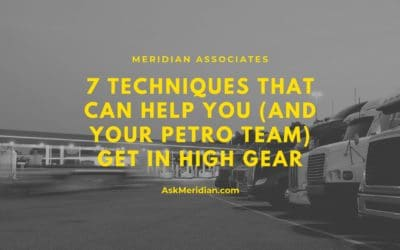 7 Techniques That Can Help You (And Your Petro Team) Get in High Gear